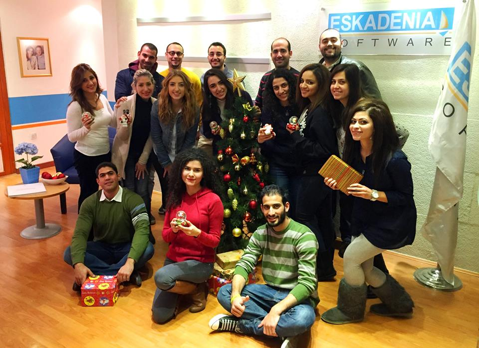 Tis the Season to be Jolly - Christmas Spirit @ ESKADENIA Software