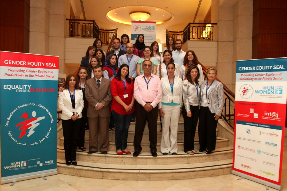 ESKADENIA Software participated in the Gender Equity Seal program workshops by UN Women Jordan