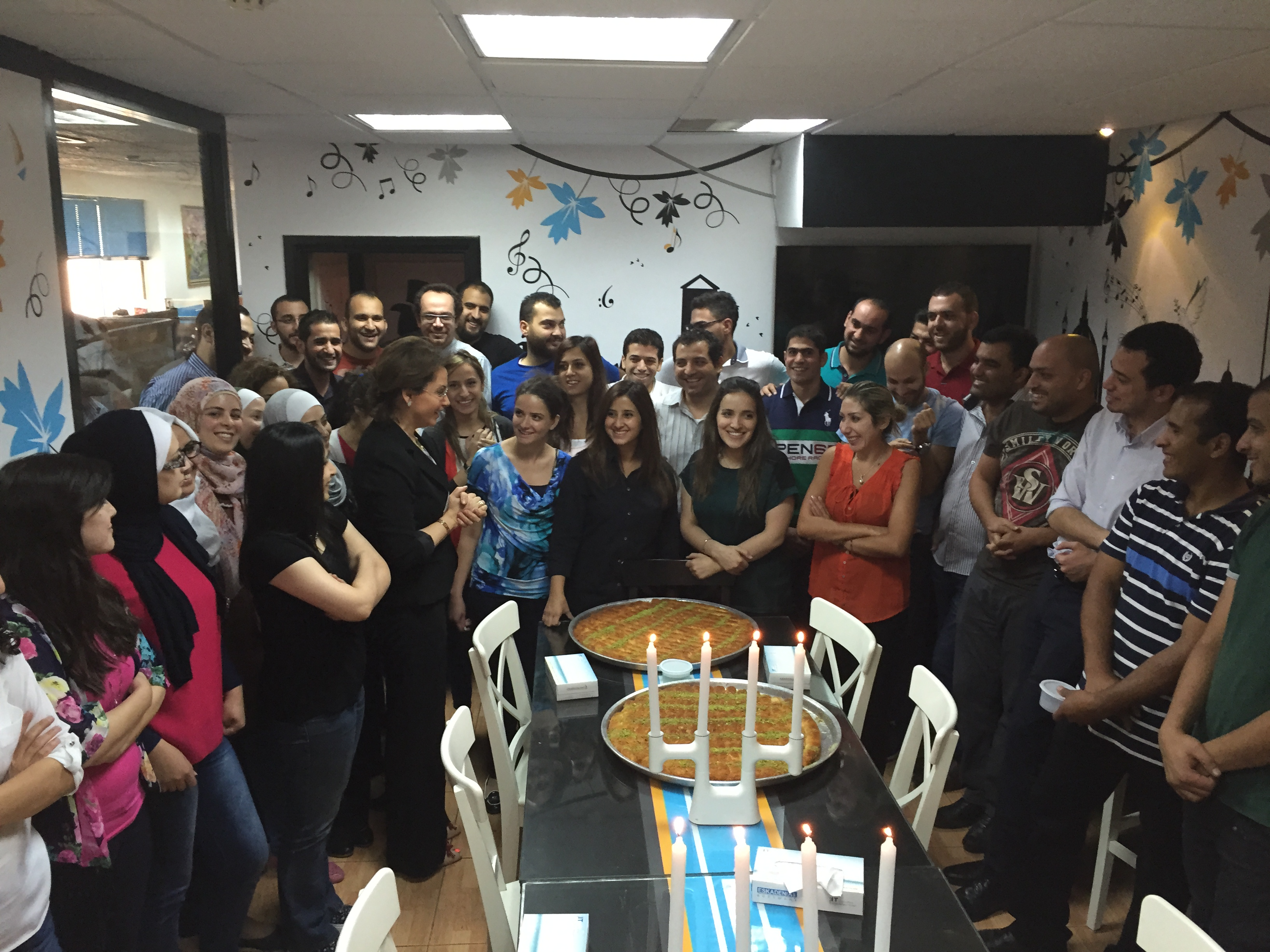 ESKADENIA Software, One of The Top 20 Companies to Work for in Jordan / Celebration