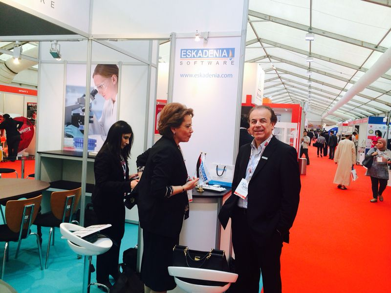 ESKADENIA Software Exhibits at Arab Health 2014