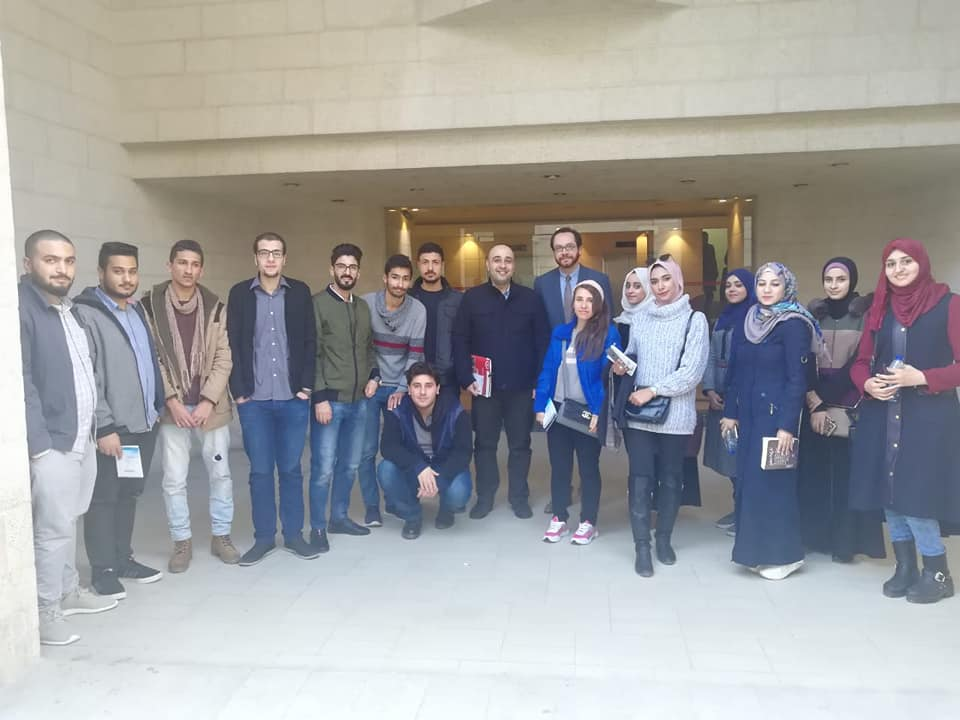 The Hashemite University visit to ESKADENIA Software