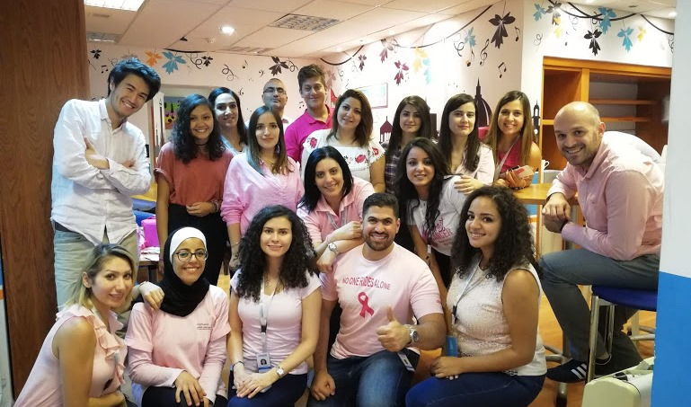 Pink Wednesday at ESKADENIA Software 2018