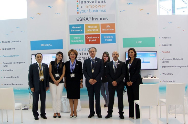 ESKADENIA Software joins forces with Arab insurance leaders at the General Arab Insurance Federation Conference (GAIF2014)