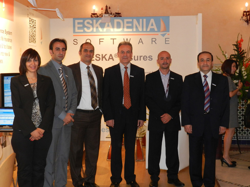 ESKADENIA Software exhibit at GAIF 2012 Morocco