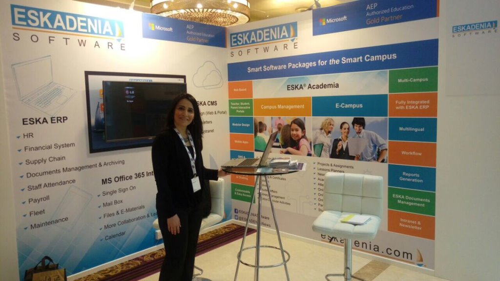 ESKADENIA Software Exhibited at Bett Middle East 2017 – Abu Dhabi