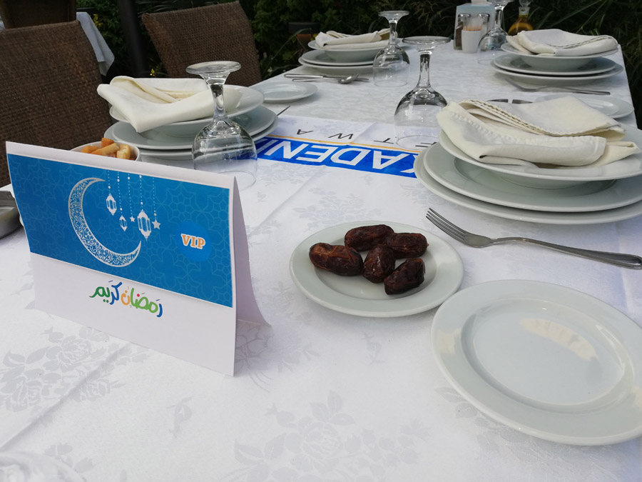 ESKADENIA Software shares the joy of Ramadan with all its Employees