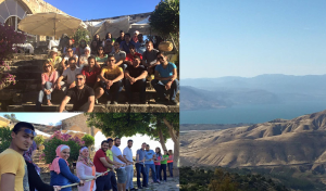 ESKADENIA Employees Enjoying Spring Sensation at Umm Qais