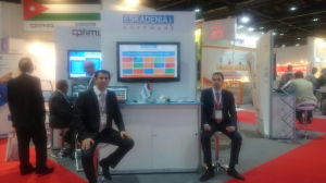 ESKADENIA Software Successfully Exhibited at Arab Health 2015 @ Dubai