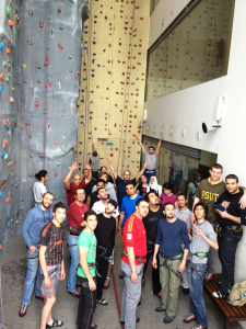 ESKADENIA employees experienced an exceptional adventure at Climbat Amman first indoor climbing center in Jordan